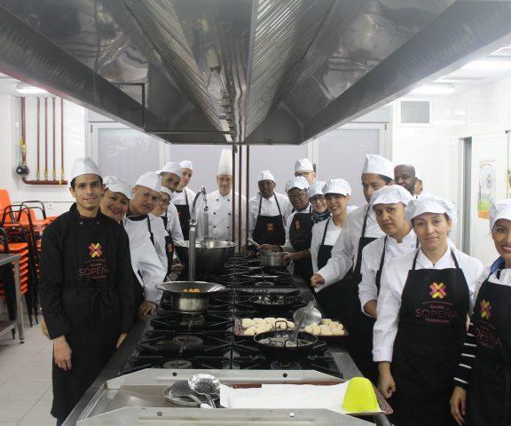 Ayudante de cocina profesional