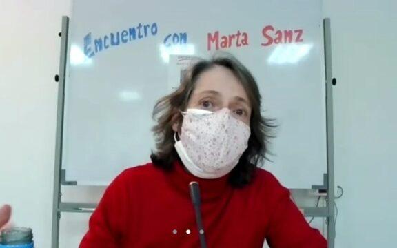 Marta Sanz comparte su experiencia sobre el oficio de escribir